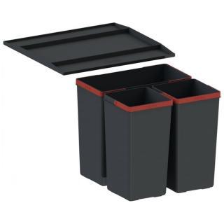 Vestavný odpadkový koš, sorter Franke Easysort 450-1-2 121.0494.150