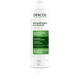 VICHY Dercos Šampon proti lupům pro citlivou vlasovou pokožku 200 ml