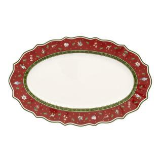 Villeroy & Boch PODNOS, keramika, červená 38/23,5