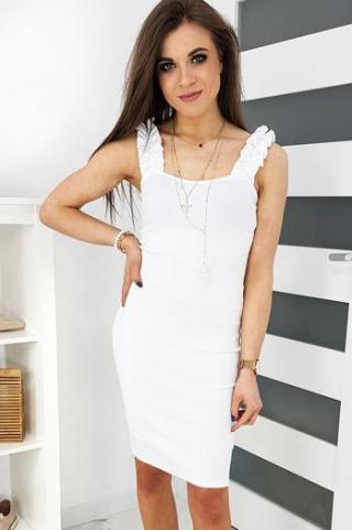 VINTO white dress EY1174 dámské Neurčeno One size