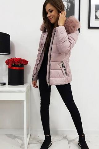 VIP pink womens quilted jacket TY1008 dámské Neurčeno L