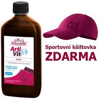 Vitar Veterinae Artivit sirup 500 ml   kšiltovka