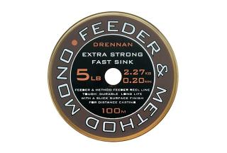 Vlasec drennan feeder & method mono 250m 0,26mm/8lb
