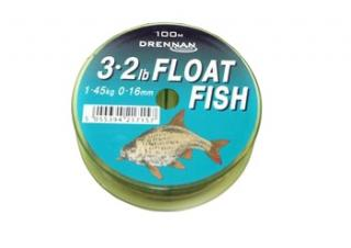 Vlasec drennan float fish 100m 0,16mm/1,45kg