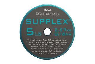 Vlasec drennan supplex 50m 0,117mm/2,5lb