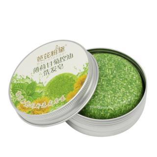 Vlasové hydratační mýdlo proti lupům Barva: zelená