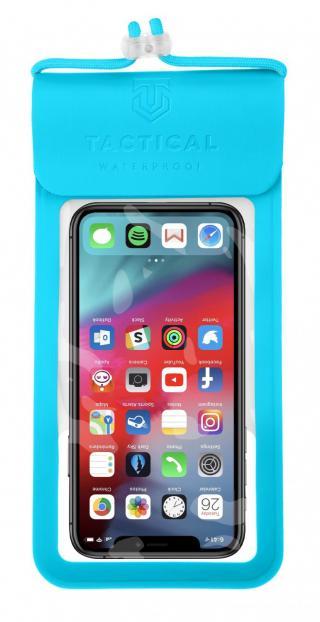 Vodotěsné univerzální pouzdro Tactical Splash Pouch L/XL, modrá