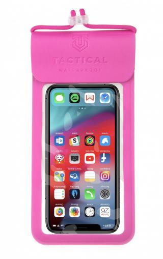 Vodotěsné univerzální pouzdro Tactical Splash Pouch L/XL, růžová
