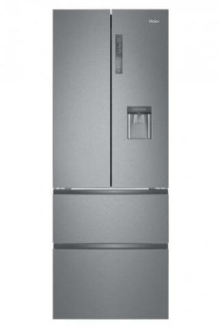 Volně stojící kombinovaná chladnička haier b3fe742cmjw použité, n