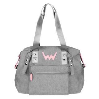 Vuch Cestovní taška Jessie světle šedá