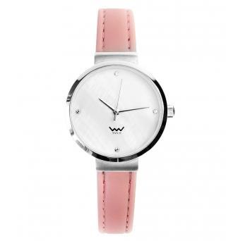 Vuch Dámské hodinky Amethyst růžová