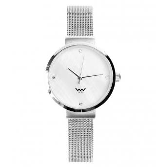Vuch Dámské hodinky Morganite stříbrná