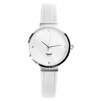 Vuch Dámské hodinky Pyrite bílá