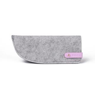 Vuch Ochranné pouzdro na brýle Slim Grey růžová