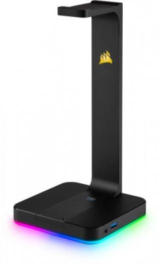 Výbava kanceláře držák sluchátek corsair gaming st100
