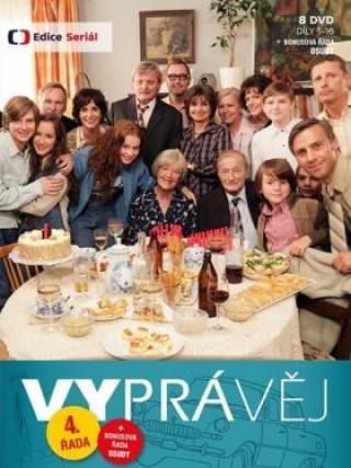 Vyprávěj 4. řada  - 8 DVD