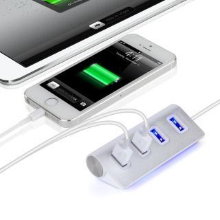 Vysokorychlostní 4 portový HUB pro Apple - Bílý
