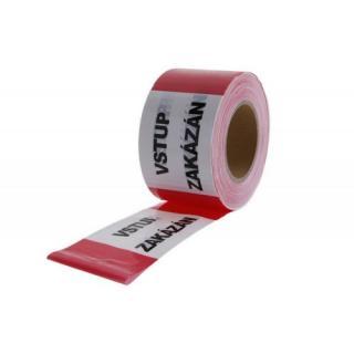 Výstražná ohraničovací páska 80mmx250m VSTUP ZAKÁZÁN FESTA 38945