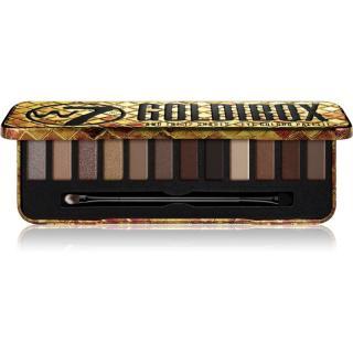 W7 Cosmetics Goldibox paletka očních stínů 15,6 g dámské 15,6 g