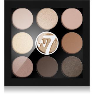 W7 Cosmetics Naughty Nine paletka očních stínů odstín Arabian Nights 4,5 g dámské 4,5 g
