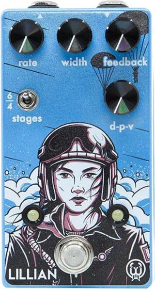 Walrus Audio Lillian Analog Phaser Blue