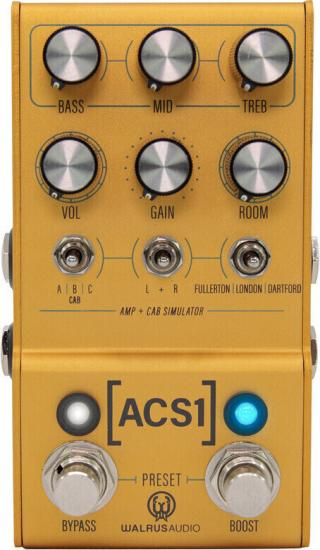 Walrus Audio Mako ACS1 Yellow
