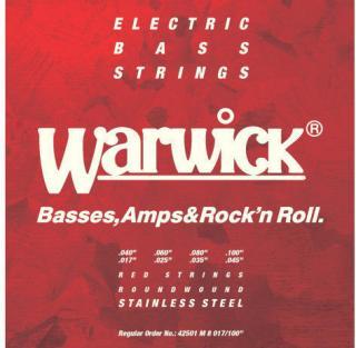 Warwick 42501-M-8-017-100 Red