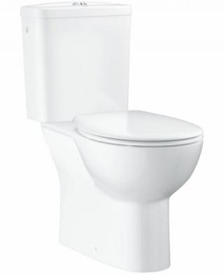 Wc kombi komplet Grohe Bau Ceramic alpská bílá spodní odpad 39346000 bílá alpská bílá