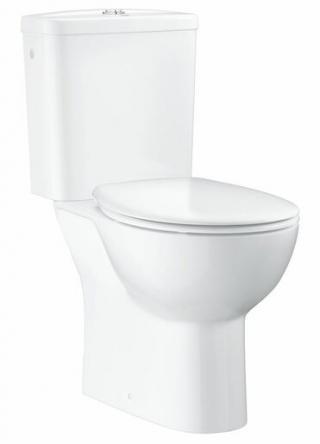 Wc kombi komplet Grohe Bau Ceramic alpská bílá vario odpad 39347000 bílá alpská bílá