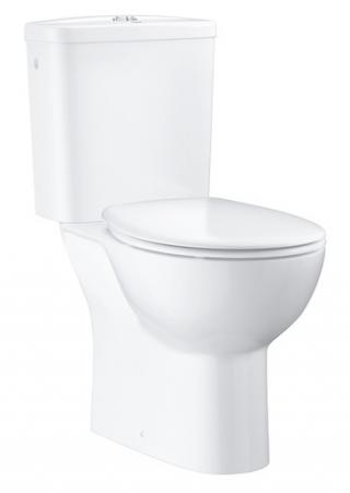 Wc kombi komplet Grohe Bau Ceramic alpská bílá zadní odpad 39495000 bílá alpská bílá