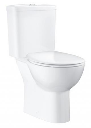 Wc kombi komplet Grohe BAU-CERAMIC alpská bílá zadní odpad 39604000 bílá alpská bílá