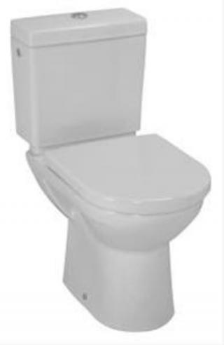 Wc kombi, pouze mísa Laufen Pro spodní odpad H8249570000001 bílá bílá