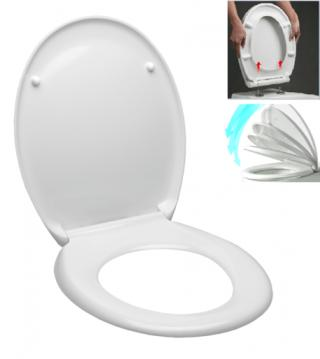 WC prkénko Glacera duroplast bílá EASY2233 bílá bílá