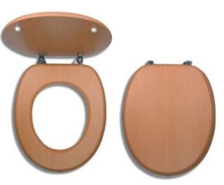 Wc prkénko Novaservis dřevo dýhované dřevo WC/BUK dřevodekor dýhované dřevo