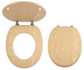 Wc prkénko Novaservis dřevo dýhované dřevo WC/JASAN dřevodekor dýhované dřevo