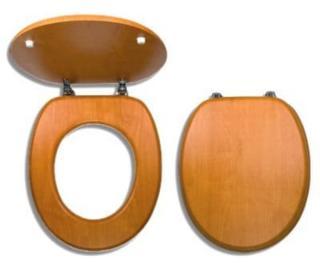 Wc prkénko Novaservis dřevo dýhované dřevo WC/ORECH dřevodekor dýhované dřevo