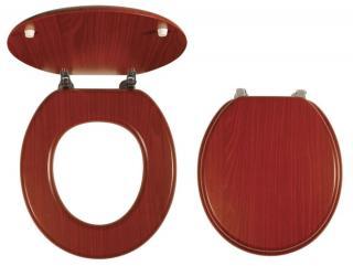 Wc prkénko Novaservis dřevo dýhované dřevo WC/ORECHLYRA dřevodekor dýhované dřevo