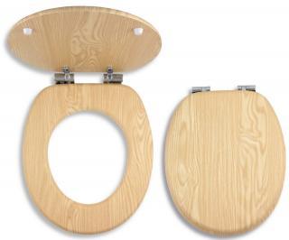Wc prkénko Novaservis dřevo dýhované dřevo WC/SOFTJASAN dřevodekor dýhované dřevo