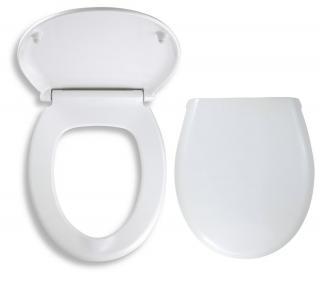 Wc prkénko Novaservis duroplast bílá WC/SOFTDPLAST bílá bílá