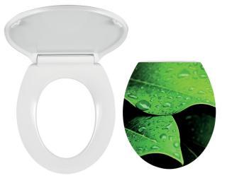 Wc prkénko Novaservis duroplast bílá/zelená WC/SOFTNATURE bílá bílá
