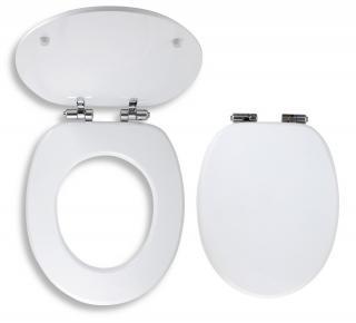 Wc prkénko Novaservis MDF bílá WC/SOFTMDF bílá bílá