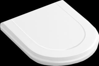 WC prkénko Villeroy & Boch Hommage duroplast bílá 8809S1R1 bílá bílá