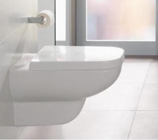 WC prkénko Villeroy & Boch Joyce duroplast bílá 9M52S101 bílá bílá