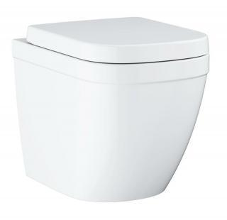 Wc s prkénkem softclose stojící Grohe Euro Ceramic alpská bílá zadní odpad 39839000 bílá alpská bílá