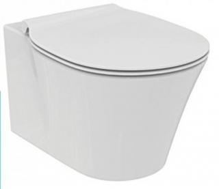 Wc s prkénkem softclose závěsné Ideal Standard Connect air zadní odpad E008701 bílá bílá