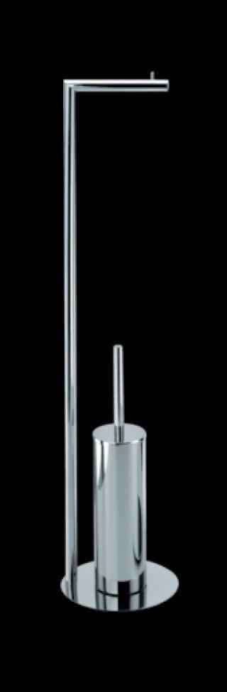 WC štětka Decor Walther Straight 7 chrom 0506100 chrom chrom