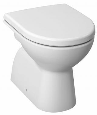 Wc stojící Jika Lyra plus spodní odpad H8213870000001 bílá bílá
