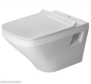Wc závěsné Duravit Durastyle zadní odpad 2536092000 bílá bílá