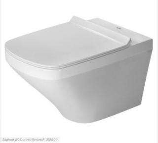Wc závěsné Duravit Durastyle zadní odpad 2551092000 bílá bílá