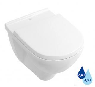 Wc závěsné Villeroy & Boch O.Novo zadní odpad 56601001 bílá bílá